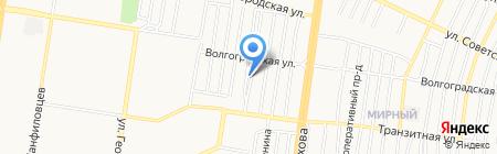АБСорб-авто на карте Барнаула