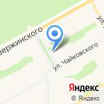 Стоматологическая поликлиника на карте Барнаула