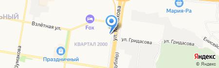 EverGreens на карте Барнаула