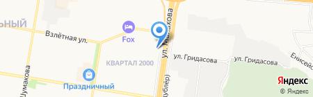 Книжная Лавка на карте Барнаула