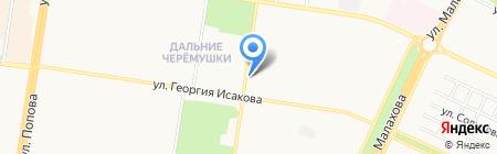 Даная на карте Барнаула