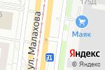 Схема проезда до компании АВТОХАУС в Барнауле