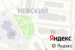 Схема проезда до компании Be Bright в Барнауле