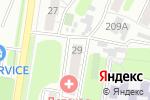 Схема проезда до компании Гильдия в Барнауле
