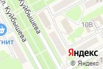 Схема проезда до компании Златовласка в Барнауле