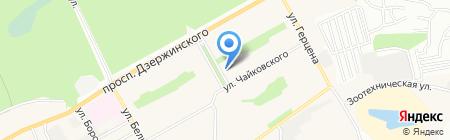 Торговая сеть по продаже молочных продуктов и сыров на карте Барнаула