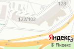 Схема проезда до компании Жемчужинка в Барнауле