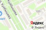 Схема проезда до компании Принт-Мастер в Барнауле
