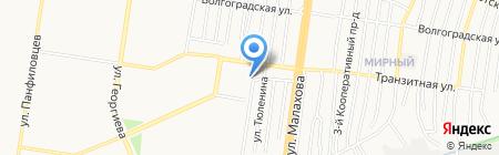 Азбука здоровья на карте Барнаула