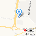 ГиперАвто на карте Барнаула