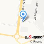 Стелс-Барнаул на карте Барнаула