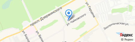 Рамира на карте Барнаула