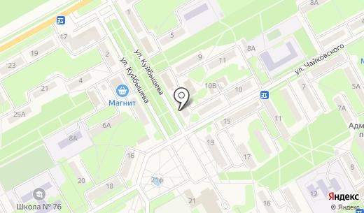 Принт-мастер. Схема проезда в Барнауле