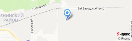 Дверной на карте Барнаула