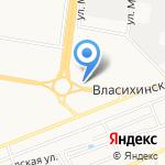 Три поросёнка на карте Барнаула