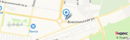 Алтайский садовод на карте Барнаула