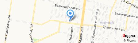 Плаваем вместе на карте Барнаула