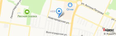 АМ! на карте Барнаула