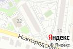 Схема проезда до компании Матрёshka в Барнауле