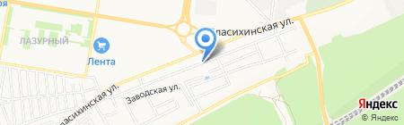 Up Хостел на карте Барнаула