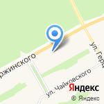 Мандарин на карте Барнаула