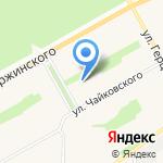 Женская консультация на карте Барнаула