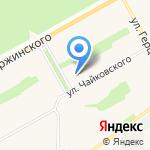 Сибирское здоровье на карте Барнаула