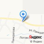 АвтоСибирь на карте Барнаула