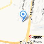 Индустриальный районный суд г. Барнаула на карте Барнаула