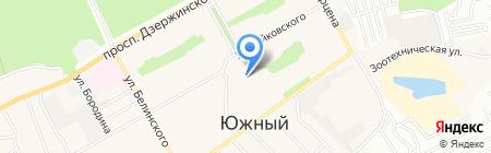 Жар-птица на карте Барнаула
