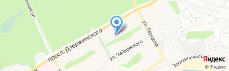 Детский сад №85 на карте Барнаула