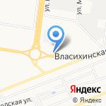 Автоцентр грузовых шин на карте Барнаула