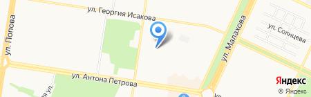 Детский сад №153 на карте Барнаула