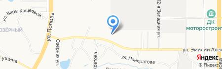 Nissan Авто на карте Барнаула