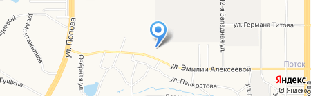 АлтайЛесЭкспорт на карте Барнаула