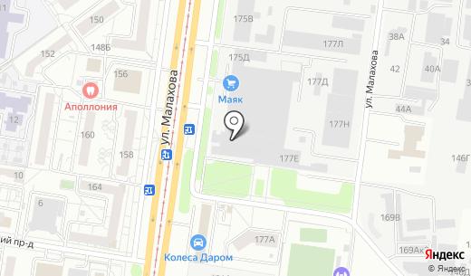 КарДента. Схема проезда в Барнауле