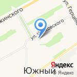 Библиотека №10 им. А.С. Пушкина на карте Барнаула