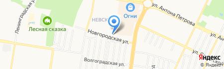 Персона на карте Барнаула