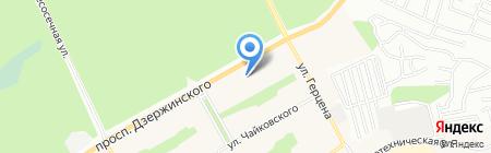Барнаульская специальная коррекционная общеобразовательная школа-интернат №1 VIII вида на карте Барнаула