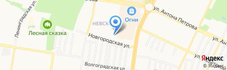 Барнаульская Домофонная Служба на карте Барнаула