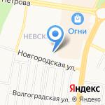 С иголочки на карте Барнаула