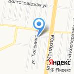 Возвращение к жизни на карте Барнаула