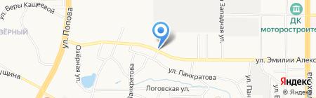 Геометрия-Hunter на карте Барнаула