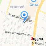 Магазин автозапчастей для Renault на карте Барнаула