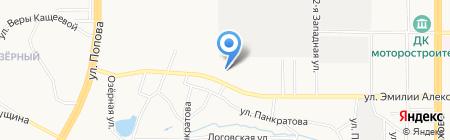 А1 на карте Барнаула