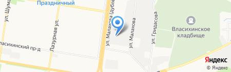 7 Секунд на карте Барнаула