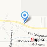 Авто-Стоп на карте Барнаула