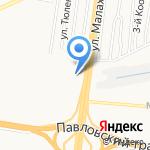 Булкин дом на карте Барнаула