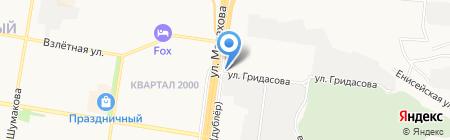 АлтайГидроБур на карте Барнаула