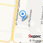 7С на карте Барнаула